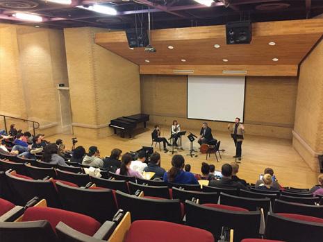Dallas Chamber Music Society education